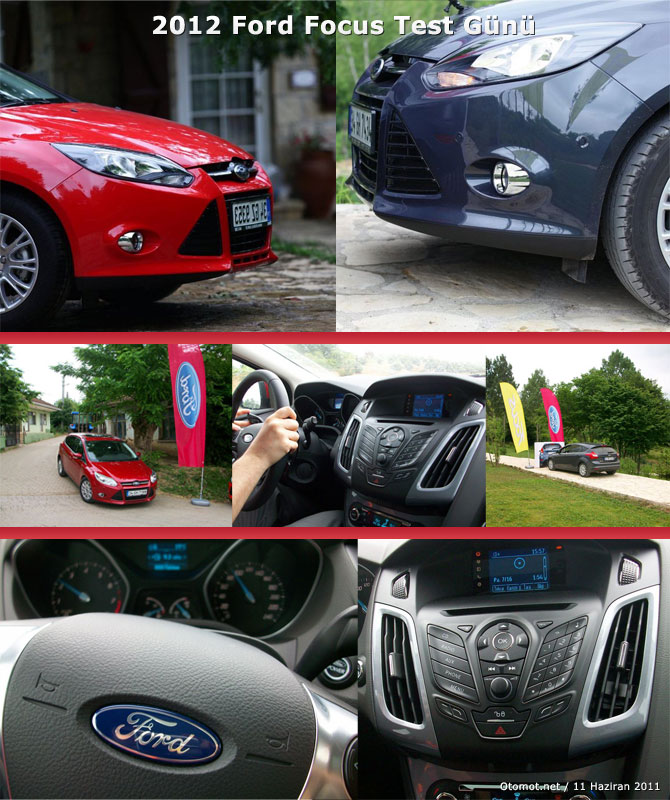 2012 Ford Focus Test Sürüşü