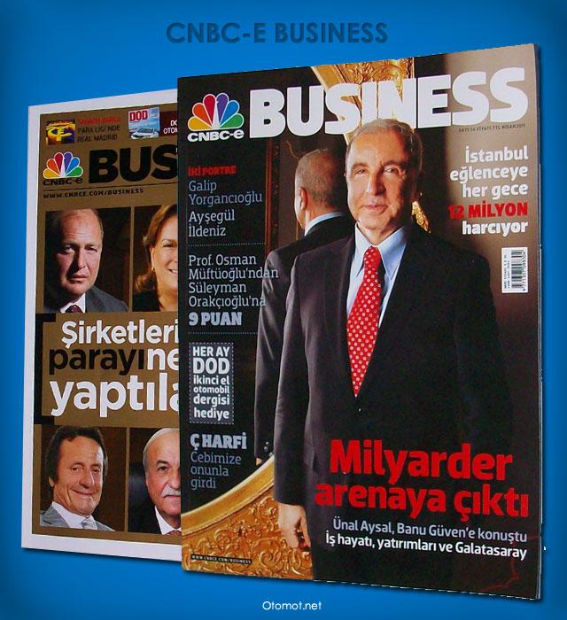 Cnbc-e Business Dergisi Yenilendi