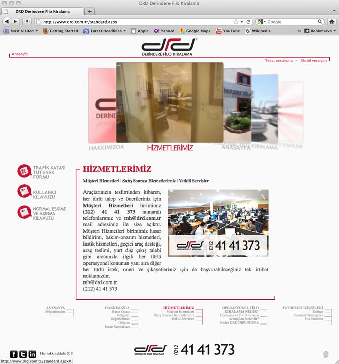 DRD Yeni Web Sitesi