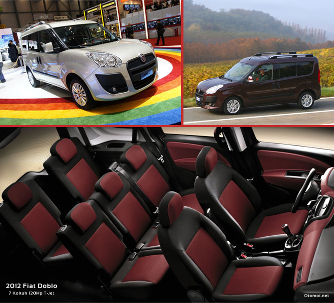 2012 Fiat Doblo 7 Koltuklu