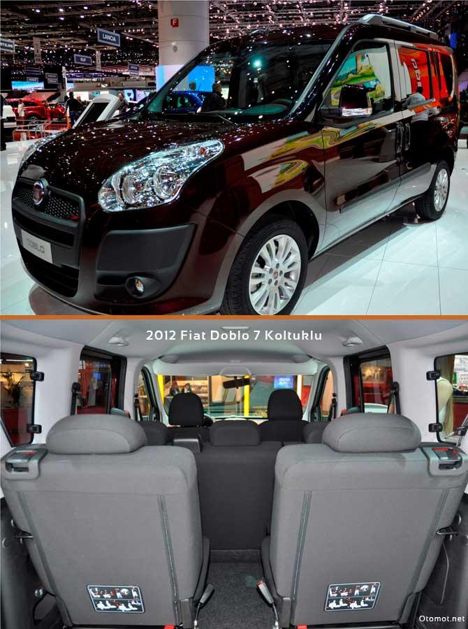 2012 Fiat Doblo 7 Koltuklu - Cenevre Auto Show