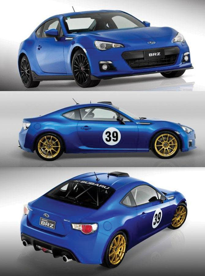 2013 Subaru BRZ AIMS